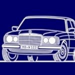 Mercedes W 123 Limo 1. Serie