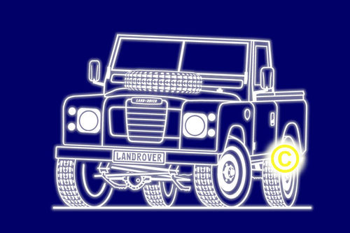 Landrover S 3 Pick up '88
